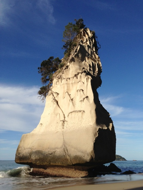 cathedral cove rock