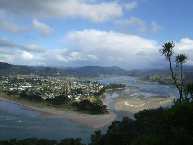 pauanui and tairua river estuary