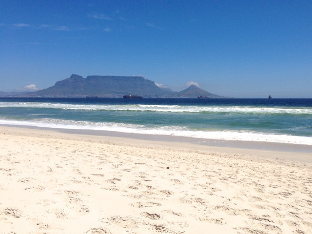 table mountain my grounding view