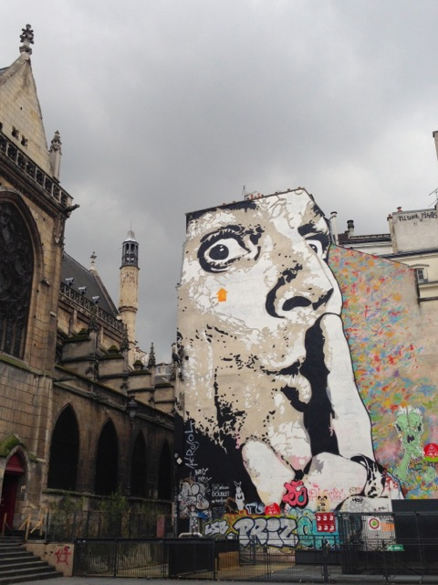 old meets new at centro pompidou