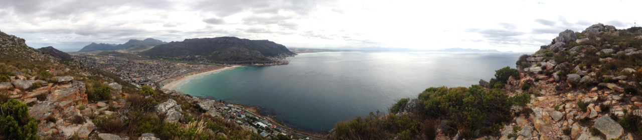 elsies peak view towards fish hoek and kalk bay