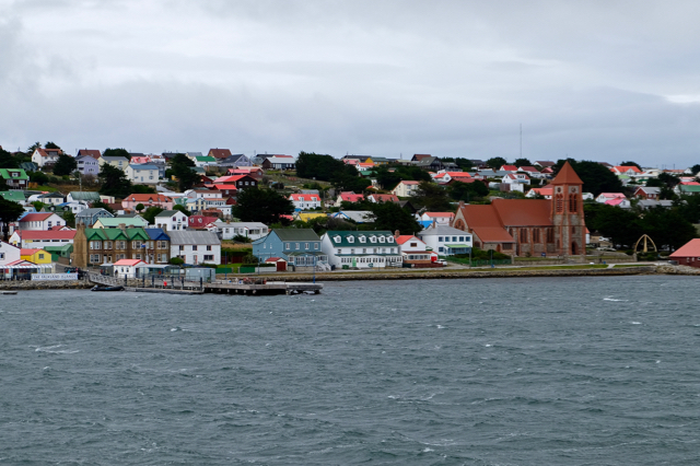 Stanley the capital of The Falklands
