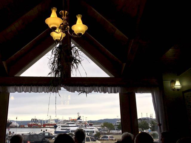 tia elvira restaurant view to the port
