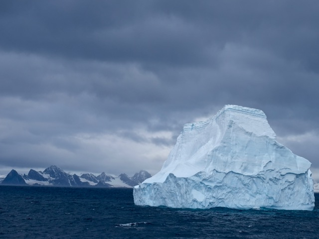 more icebergs on our way to Antarctica