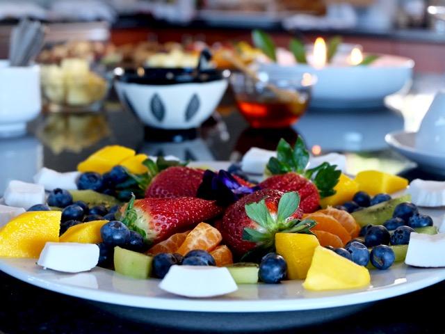 chakra fruit platter