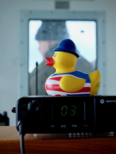 every bridge needs a rubber duck