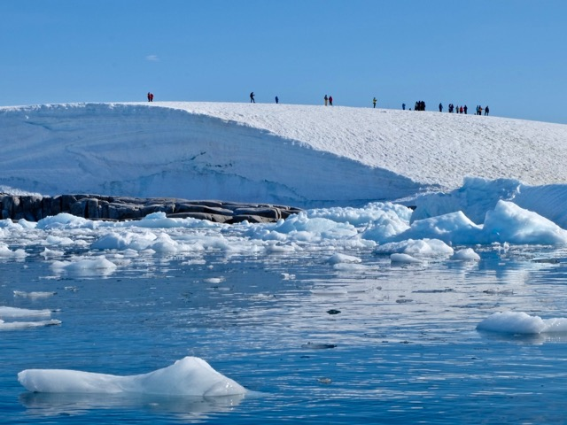we are so small in the vast expanse of the universe and here at Portal Point Antarctica
