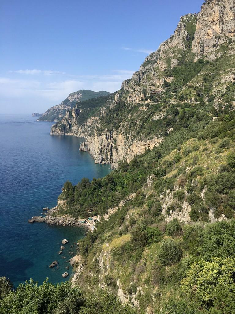 Amalfi coast blue
