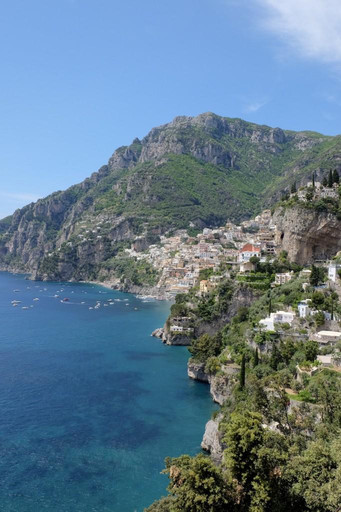 Amalfi coast to Positano