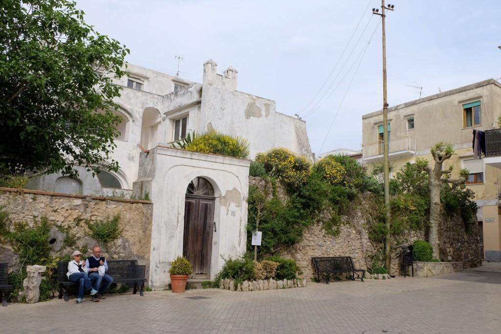 Anacapri street life