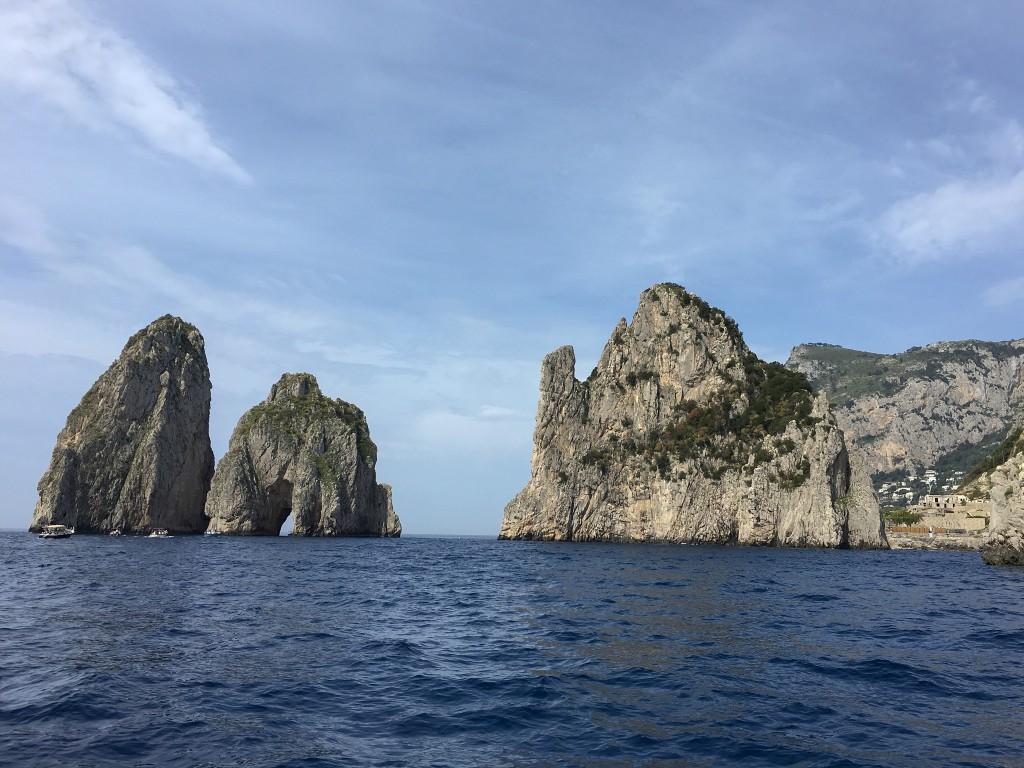 Capri and Isole Faraglioni